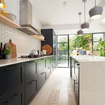 kitchen ideas wood modern