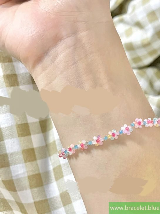 beaded bracelets with cord