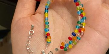 braided bracelets With beads